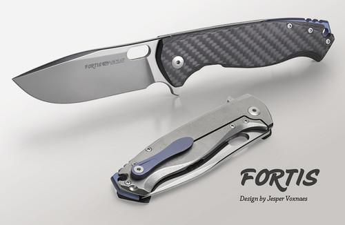 Viper Fortis Carbon Fiber - Titanium