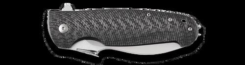 """Viper Italo, Carbon Fiber & Titanium, M390 3 3/4"""" Blade"""