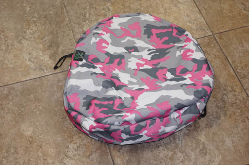 Pink came bum bag for field target