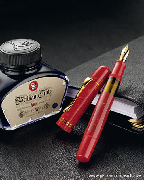 Pelikan M101N Special Edition Bright Red