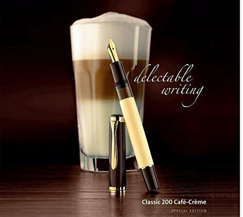 Pelikan M200 Cafe Creme fountain pen