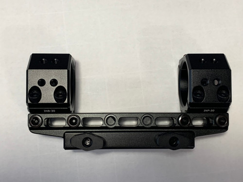 30m One Piece Infinity Elevation Adjustable Scope Mount Picatinny