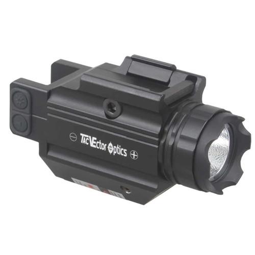 Vector Doublecross Compact Red Laser & Flashlight