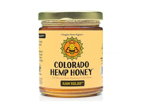 Raw Relief Honey Jar - Colorado Hemp Honey