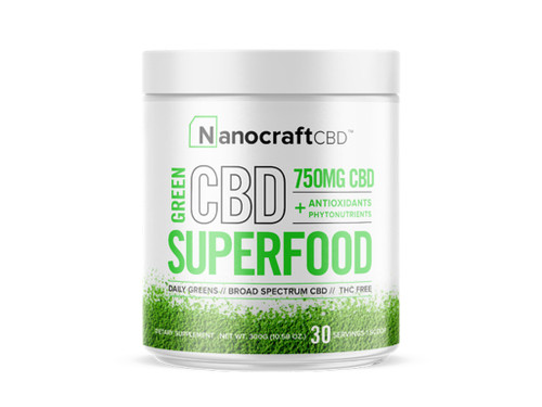 Green CBD Superfood Drink - Nanocraft