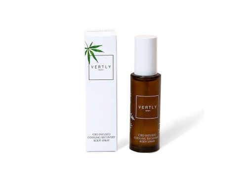 CBD Workout Recovery Body Spray - Vertly