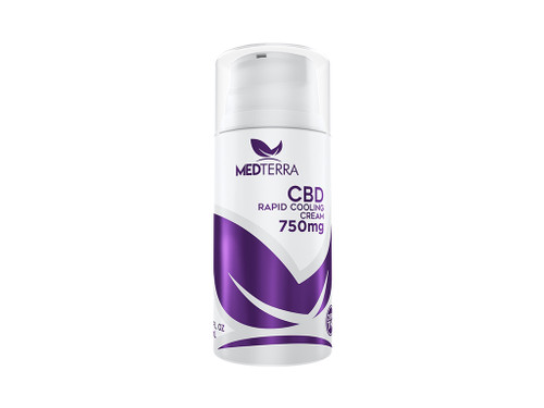 CBD Rapid Cooling Cream 750mg Botle