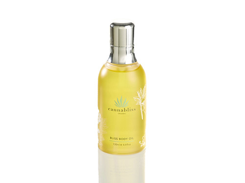 Cannabliss Bliss Body Oil Bottle