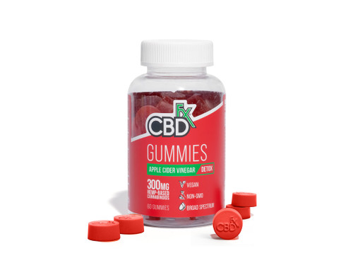 CBDfx Apple Cider Vinegar Gummies Display
