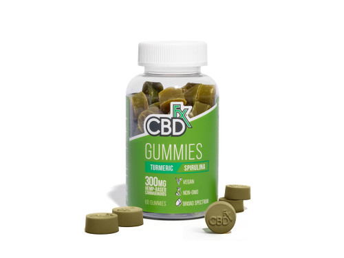 CBDFx Tumeric and Spirulina Gummies