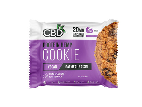 CBD Oatmeal Raisin Protein Cookie - CBDfx