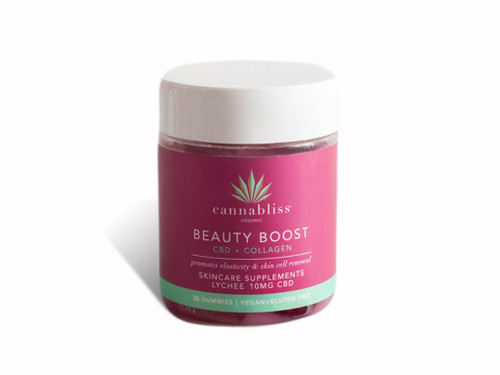 Cannabliss - Beauty Boost Gummies display
