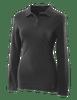 Tru-Spec Women's Long Sleeve Classic 100% Cotton Polo - Black