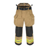 Lakeland Fire Bunker Gear - B2 Pleated Turnout Pant, front view