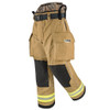Lakeland Fire Bunker Gear - B2 Pleated Turnout Pant, rotated front view