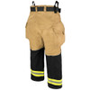 Lakeland Bunker Gear Stealth Turnout Pants, rotated back view