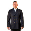 Anchor Uniform Double Breasted Polyester Class A Dress Coat - Front View