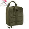 Tactical Breakaway Pouch - Great addition to ballistic vest carriers - OD Green