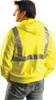 Lightweight High Visibility Full Zip Hoodie