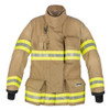 Lakeland Fire Bunker Gear - B2 Pleated Turnout Coat, front view