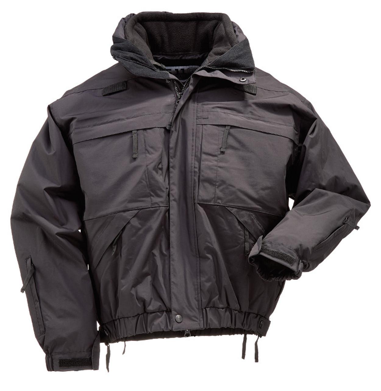 b1a23a4da9d 5.11 Tactical Fleece - Black (019)
