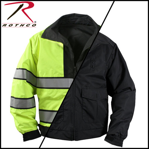 Waterproof Reversible Hi-Viz Jacket