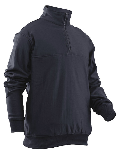 Tru-Spec Grid Fleece Zip Job Shirt - Midnight Navy