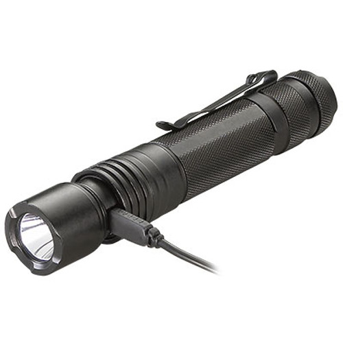 Streamlight Protac HL USB - 850 Lumen USB Rechargeable Tactical Flashlight - Charging