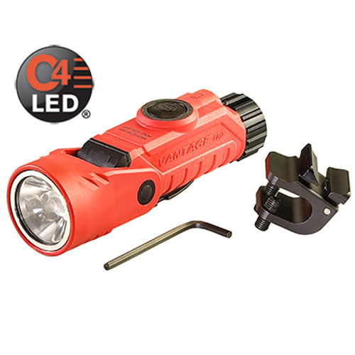 Streamlight Vantage 180 Helmet Mounted LED light for Firefighters - Orange
