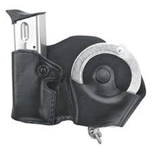Gould & Goodrich B841-4 Plain Cuff and Mag Case with Belt Loops at East Coast Emergency Outfitter