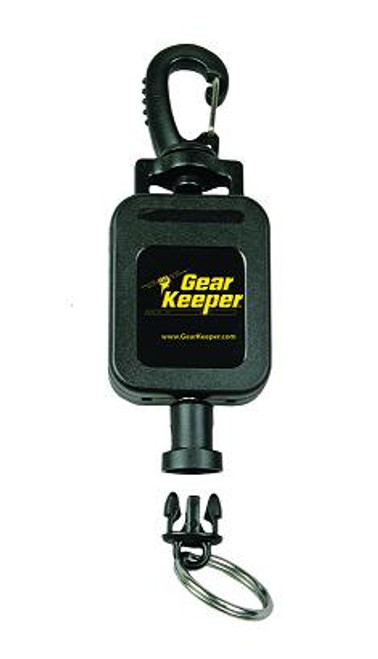 Gear Keeper Medium Flashlight Retractor w/ Heavy Duty Snap Clip