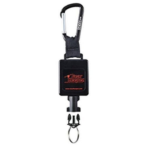 Gear Keeper Large Flashlight Retractor w/ Heavy Duty Snap Clip