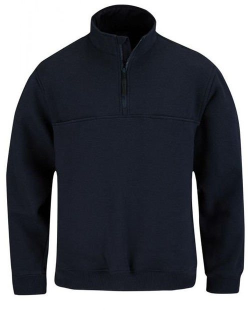 Propper 1/4 Zip Job Shirt in Navy at East Coast Emergency Outfitter