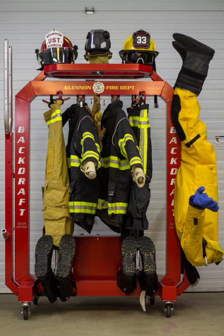 The BACKDRAFT 1000 Turnout Gear Dryer - Front View