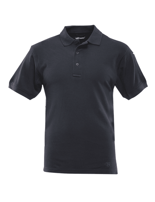 Tru-Spec Men's Short Sleeve Classic 100% Cotton Polo - Navy