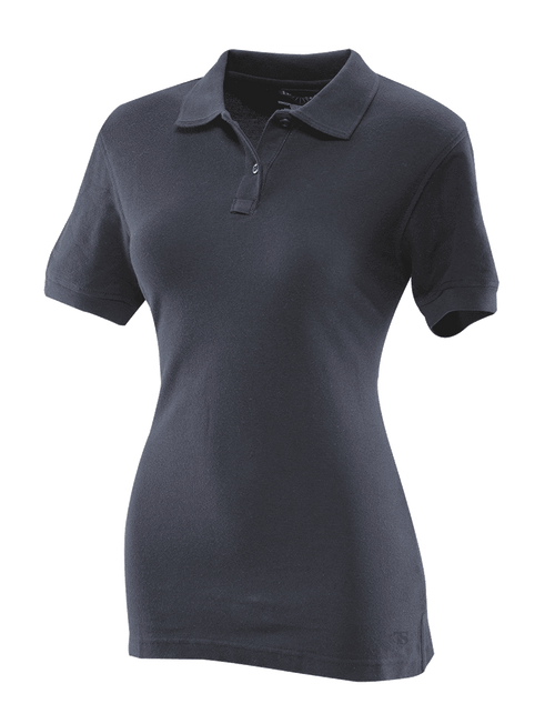 Tru-Spec Women's Short Sleeve Classic 100% Cotton Polo in Navy