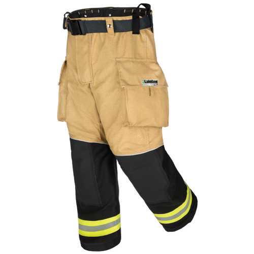 Lakeland Bunker Gear Stealth Turnout Pants, rotated front view