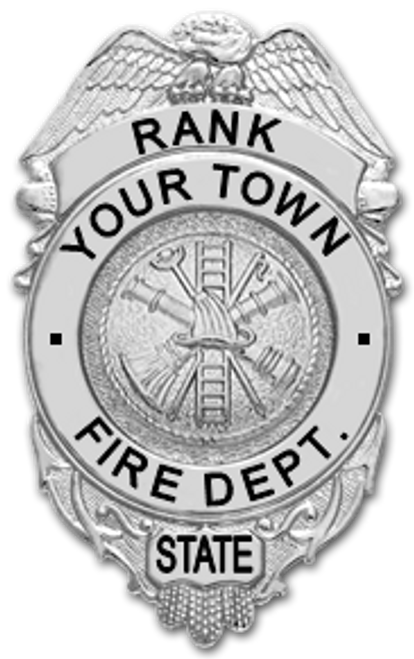 Custom Fire Department Badge