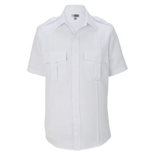 Edwards Garment Short Sleeve White Uniform Shirt