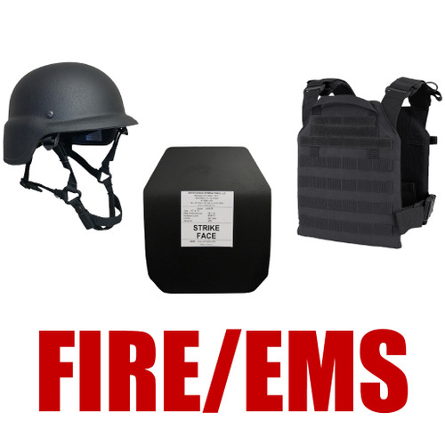 United Shield International Complete Active Shooter Kit - OSFM Fire Level III+