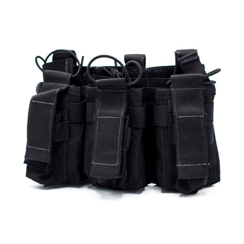 United Shield International Triple Rifle/Pistol Mag Pouch (PCHMR5)