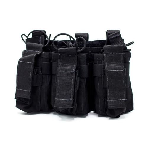 United Shield International Triple Rifle/Pistol Mag Pouch (PCHMR5)