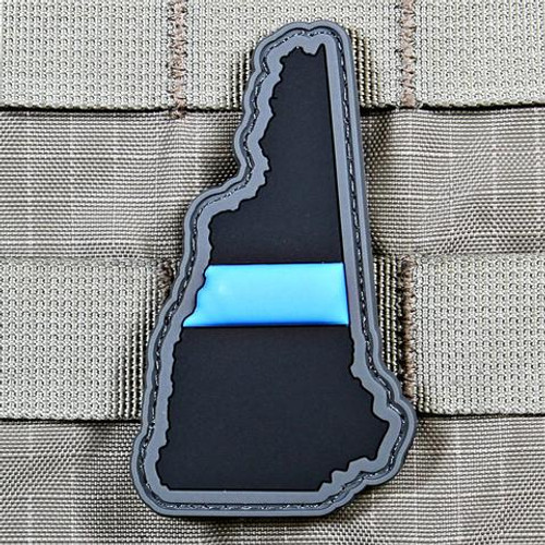 Blue Line New Hampshire PVC Morale Patch