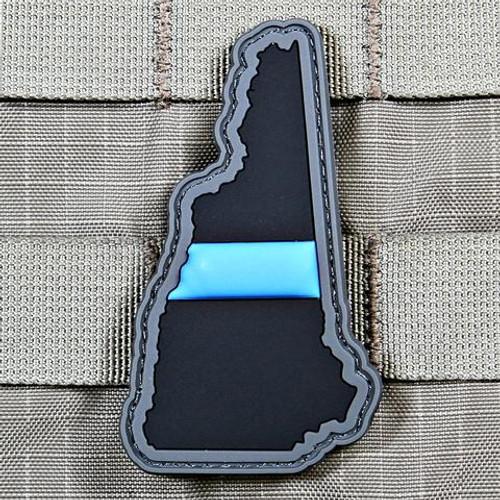 Blue Line New Hampshire PVC Morale Patch