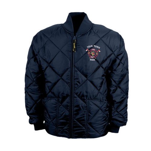 Custom Fire Department Jacket