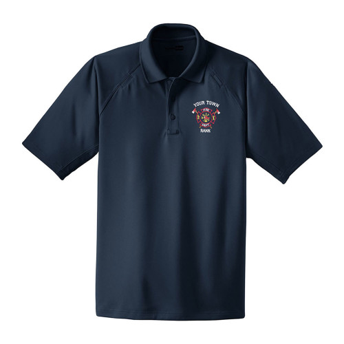 Custom Embroidered Cornerstone Snag Proof Tactical Polyester Polo