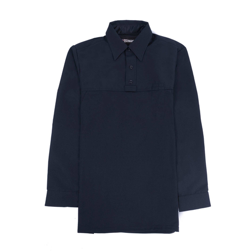 Blauer Long Sleeve Polyester ArmorSkin Base Shirt - Flat