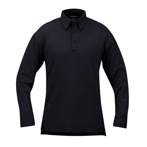 Propper I.C.E.® Men's Performance Polo - Long Sleeve in LAPD Navy