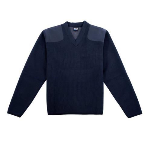Blauer Fleece-Lined V-Neck Sweater