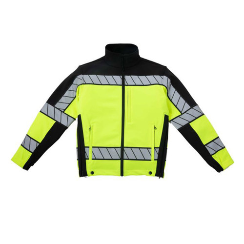 Blauer 4670 Colorblock Softshell Fleece Jacket